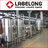 Best 2000L Capacity Industrial Reverse Osmosis System RO / UF For Bottling Machine wholesale