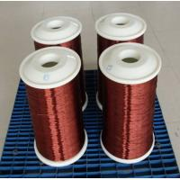 Cheap 24 Awg / Swg Enamel Coated Wire Enameled Aluminium Wire For Generator Motors for sale