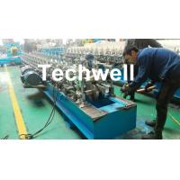 Best Hat Channel Cold Roll Forming Machine With Hydraulic Cutting Type & PLC Frequency Control wholesale