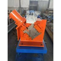 Best Square Downspout Pipe Roll Forming Machine Hydraulic Cutting Type 3kw wholesale