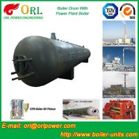 Customization Diesel Boiler Drum Thermal Insulation With Water Tube
