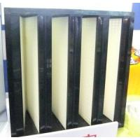 Buy cheap Sub-High Efficiency V-Style Filter (F6/F7/F8/F9) from wholesalers