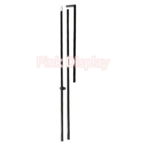 Best Outdoor Smooth Rod Vertical Feather Flag Pole Base wholesale