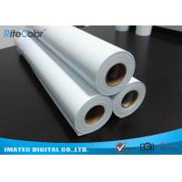 Best Eco Solvent Matte PP Synthetic Paper , Solvent based Polypropylene Paper for Outdoor Display wholesale