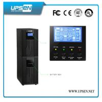 Quality High Frequency Pure Sine Wave 6-10kva Online Ups For Bank ATM Machine wholesale