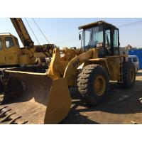 Cheap Front End Loader Second Hand Wheel Loaders , 966G Cat Track Loader 5200h 22.8 T for sale
