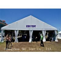 Best PVC Coat Fabric Outdoor Party Tents With Hard Pressed Extruded Aluminum Alloy wholesale