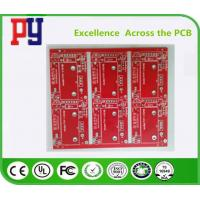 Best Red Solder Mask Electronic Circuit Board Assembly , Double Sided Pcb Board 2oz wholesale