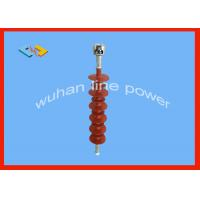 Buy cheap Silicone Rubber 33kv Disc Insulator , Suspension Insulator In Power System from wholesalers