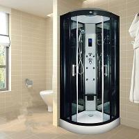 Best Indoor Glass Sauna Steam Shower Enclosure Unit , One Person Steam Shower Stall wholesale