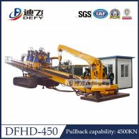 Cheap 450Ton Pull Capacity DFHD-450 Trenchless Horizontal Directional Drilling HDD Rig for sale