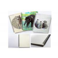 Cheap Mini Custom Lenticular Printing Notebooks PET Cover Note Pad 12x8cm for sale
