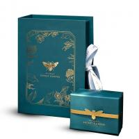 China Manufacturer Customized Recyclable Wholesale party  personalised gift  box with Ribbon on sale