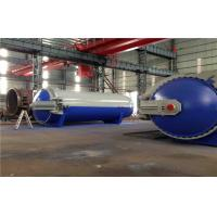 Best Pneumatic Laminated Vulcanizing Autoclave , Pressure In Autoclave By PLC Controller wholesale
