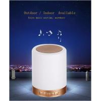 Bluetooth led colorful touch adjust brightness quran light speaker SQ112