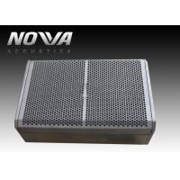 China Single 12 In Black Portable Line Array Speakers , Passive Speaker Box 90x50 HXV on sale