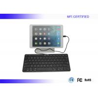 China Student iPad Wired Keyboard for iPad Mini / Air Lightning Connector on sale