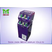 Cheap Store Cardboard Recycling Bins , Cardboard Display Bins For Drinks And Market Promotion for sale