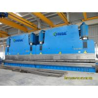 Hydraulic 120 Ton CNC Tandem Pole Press Brake Bending Machine With Steel Plate Frame
