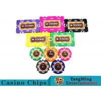 Cheap Embedded Feel Casino Poker Chip Set With Environmental Protection Materials for sale