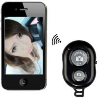 Best Mini Bluetooth Wireless Remote Control Camera Shutter Release Self Timer for iPhone /iPad wholesale