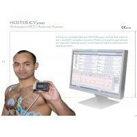 Quality Medical Holter ECG Monitors , Exercise Electrocardiogram ECG Equipment with two kinds of recorders wholesale