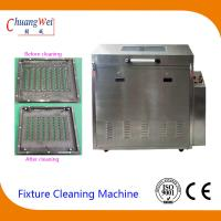 Quality Rotate Spray Clean and Rinse Wave Solder pallet washing machine PLC procedure control wholesale