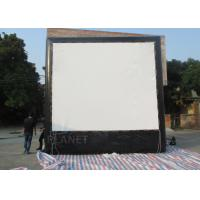 Best Air Sealed Backyard Inflatable Movie Screen , Rear Projection Screen For Party wholesale