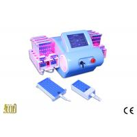 Buy cheap Blue ABS Case Lipo Laser Slimming Machine For Fat Burning With Imported from wholesalers