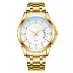 Best Wholesale Custom Logo men quartz wrist Watches stainless steel band fashion wrist watches wholesale