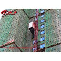 Quality 2000kg Capacity Double Cage Construction Hoist For Lifting Passenger And Materials wholesale
