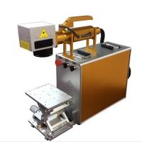 Best 100X100MM Portable Laser Engraving Machine For Stainless Steel , Laser Marking Device wholesale