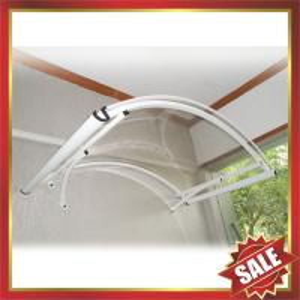 aluminium awning,canopy with white frame