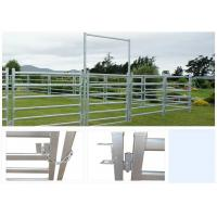 Best Heavy duty galvanized livestock metal fencing cattle yard panels 50X1.5MM Post wholesale