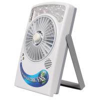 Cheap Solar Touch Fan With LED Light for sale