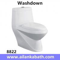 Best Middle East Bathroom Sanitary Ware Ceramic S-trap250 Roughing-in Washdown One-piece Toilet wholesale