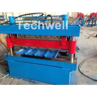 Best Roof / Wall Panel Double Deck Roll Forming Machine , Double Layer Roll Former wholesale