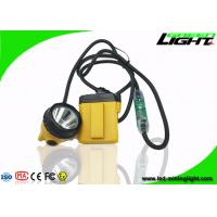 China Explosion Prevention LED Miners Headlamp 10.4Ah 25000lux Cable Flashing Light on sale