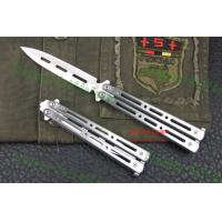 China shadow steel pocket butterfly knifes on sale