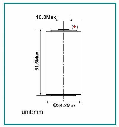 details of er34615m lithium battery 14 5ah 3 6v 102535045. Black Bedroom Furniture Sets. Home Design Ideas