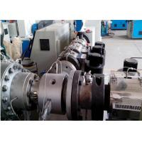Best HDPE Spiral Reinforcing Pipe Plastic Extrusion Line Plastic Pipe Extruder wholesale
