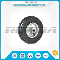 Best Bent Valves Pneumatic Rubber Wheels 6 Inches Roller Bearing For Hand Trolley wholesale