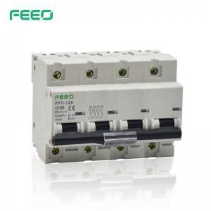 Best High Breaking Capacity 1000VDC 125A 4P FEEO DC MCB wholesale