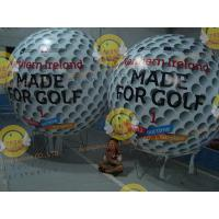 Cheap Customized Helium Inflatable Golf Ball Round 2.5m Reusable ASTM for sale