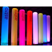 Quality C-05 2m Inflatable Advertising Light Pillar For Advertisement and Party Decoration wholesale