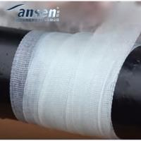 Best 15cm width anti-corrosion easy operation fiberglass polyethylene underground pipe fast repair wrap tape bandage wholesale