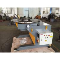 Best VFD Control Rotary Welding Table 3 - Jaws Chuck , 3 Ton Capacity wholesale