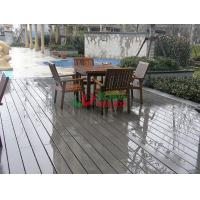 Buy cheap Outdoor WPC Garden Decking Recyclable 100% Mildew Proof Environmental Friendly from wholesalers