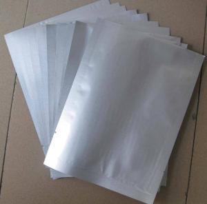 China China aluminium foil bag plastic bag laminated foil packaging zip-lock bags supplier on sale