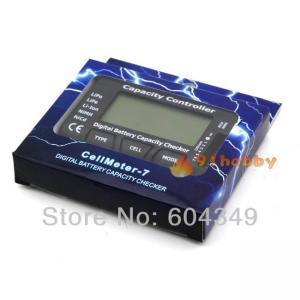 Best Radio Control Parts CellMeter-7 Digital Battery Capacity Checker LiPo LiFe Li-ion NiMH Nicd wholesale